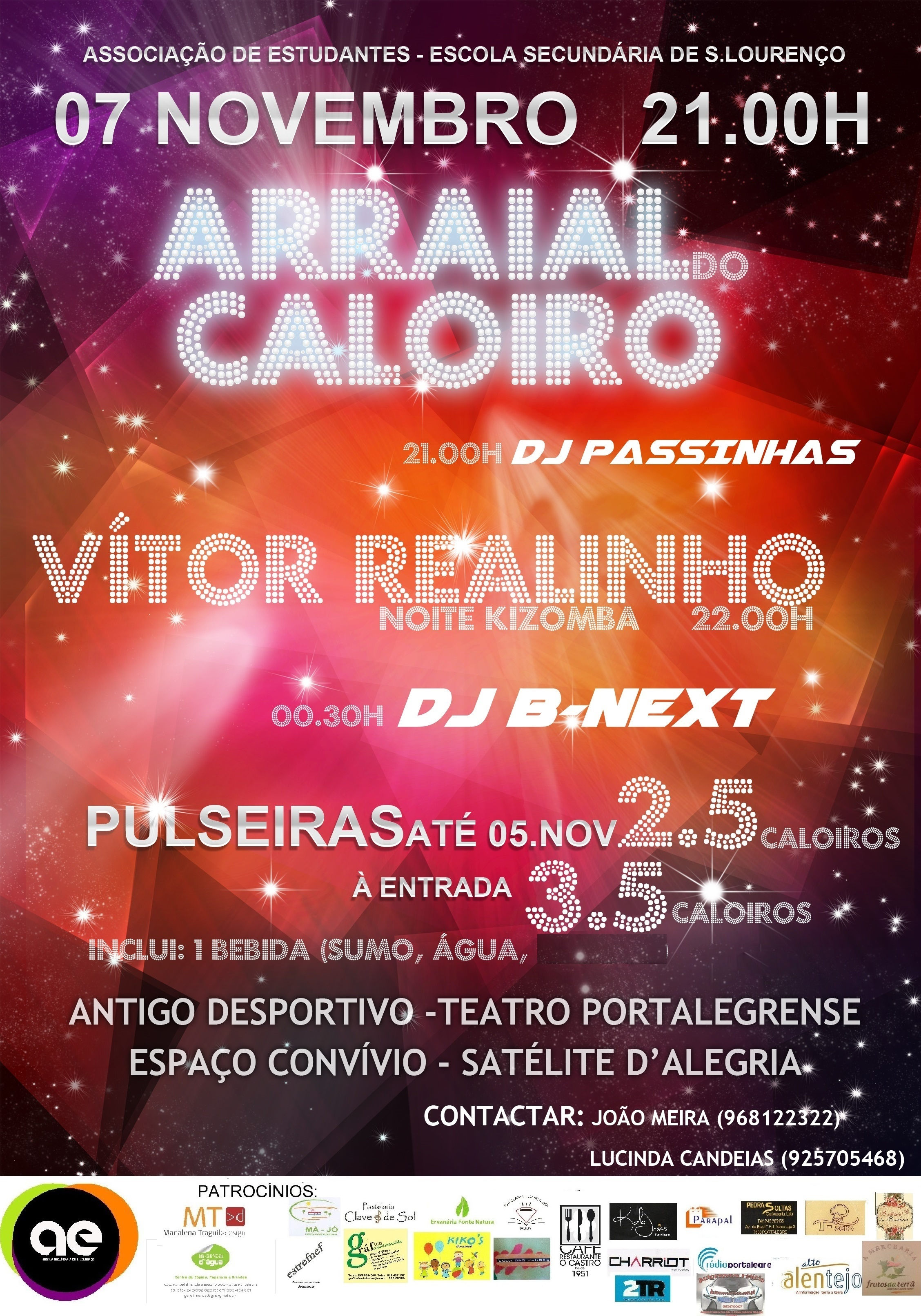 arraial do caloiro